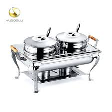 Chafing Dish Buffet Set Electric Strong Aluminum