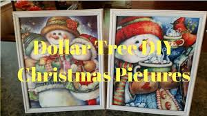 In This Dollar Tree DIY Christmas Pictures I Take Two Picture Frames From Spray Paint And Add Glitter To Them Next Gift Bags T