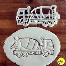 Cement Mixer Truck Cookie Cutter – Bakerlogy Truck Cookie Cutter Fire 5 Inch Coated By Global Sugar Art Amazoncom Grandpas Old Farm Pickup Kitchen Cutters Jb Custom Exclusive How To Make Ice Cream Cookies Semi Sweet Designs Dump Arbi Design Cookiecutz Food 375 In Experts Since 1993 Truck And Products Set The Shop Little Blue Cnection