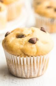 Bisquick Pumpkin Chocolate Chip Muffins by Healthy Chocolate Chip Mini Muffins Amy U0027s Healthy Baking