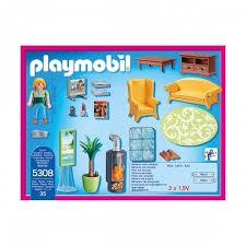 playmobil 5308 wohnzimmer mit kaminofen playmobil city