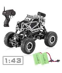 FASTDEAL RC Car, 4WD Offroad Remote Control Car, 1/43 Scale High ... Force Rc 110 Outbreak 4wd Monster Truck Rtr Black Horizon Hobby Best Axial Smt10 Grave Digger Jam Sale Ecx Ruckus Brushed Readytorun 2018 New Wpl C14 116 2ch 4wd Children Rc 24g Off Road Wltoys 118 Rock Crawler Offroad Military Remote Gas Baja Slt 275 Buy Truck4wd Brushless Electric Trophy Style 24g Lipo Tamiya Super Clod Buster Kit Towerhobbiescom Shop Remo 1621 Car Waterproof Short