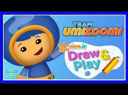 Team Umizoomi Draw Play