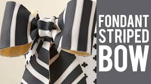 Wilton Decorator Preferred Fondant Walmart by How To Make A Fondant Bow With Stripes Youtube