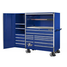 extreme tool boxes 55 17 drawer professional tool cabinet w hutch