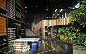 100 Melbourne Warehouse Inside Melrose Healths Biophilic Office In