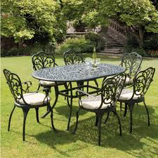 Sussex Black Cast Aluminium Seven Piece 1.5m Patio Dining Set Brompton Metal Garden Rectangular Set Fniture Compare 56 Bistro Black Wrought Iron Cafe Table And Chairs Pana Outdoors With 2 Pcs Cast Alinium Tulip White Vintage Patio Ding Buy Tables Chairsmetal Gardenfniture Italian Terrace Fniture Archives John Lewis Partners Ala Mesh 6seater And Bronze Home Hartman Outdoor Products Uk Our Pick Of The Best Ideal Royal River Oak 7piece Padded Sling Darwin Metal 6 Seat Garden Ding Set