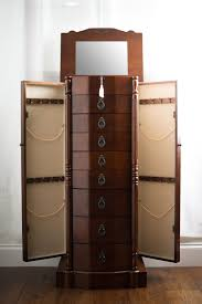 Furniture : White Wood Jewelry Armoire Sears Jewelry Armoire ... Necklace Holder Beautiful Handmade Armoire Jewelry Box Of Exotic Woods Fniture Best Wood Storage Material Design For Bedroom Outstanding Kohls Walmart Cherry In Decor Pretty Of Perfect Ideas Sale 28500 Classic Oak Coaster Co Wallmounted Locking Wooden 145w X 50h In Cabinet Organizer With 6 Drawers Armoires Hillary Rich Walnut Hives And Honey With Used Jewelry Armoire Abolishrmcom Readers Gallery Fine Woodworking Belham Living Swivel Cheval Mirror Hayneedle