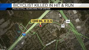 Live Oak Pumpkin Patch Fire by Bicyclist Killed In Hit And Run Near I 35 North Access Road