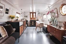 100 Inside Home Design Solarpowered Houseboat Boasts Spectacular Interior Design