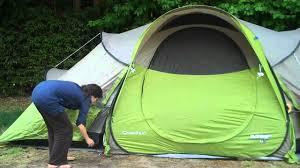 tente 4 places 2 chambres seconds family 4 2 xl quechua quechua seconds base 4 2 opzetten