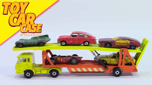 100 Matchbox Car Carrier Truck Super Kings K 11 DAF Transporter 1970 1971 Toy
