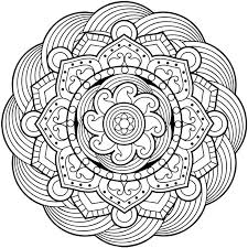 Mandala Coloring Pages For Adults Is A Book With Drawings Now Free Android IOS And Windows Phone Devices