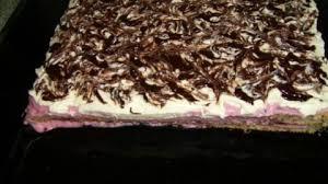 blechkuchen mit quark mascarpone beeren pudding creme