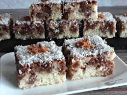 kefir kuchen mit kakao und kokosraspeln
