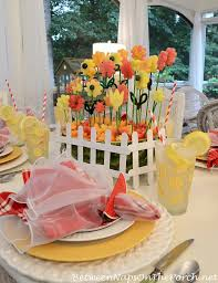 5 Spring Summer Table Settings