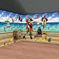 Halloween Scene Setters Canada by Design A Room Pirate Pack Orientaltrading Com Pirates