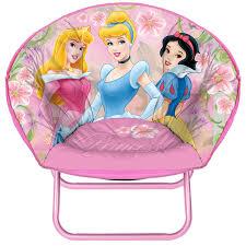 amazon com disney princess mini saucer chair toys games