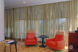 sheer fabric curtains dual treatment ripplefold drapery