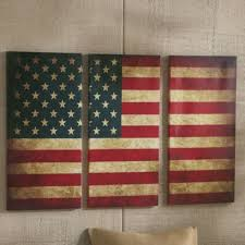 Wall Art Pleasant Design Ideas American Flag Decor With Peaceful