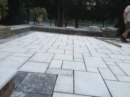 outdoor living of luxury marble flooring and outdoor