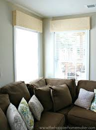 How To Make A Window Valance Ideas For Dining Room Curtains Valances Walmart