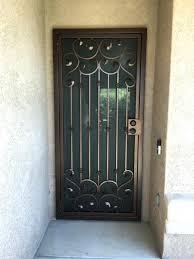 iron security doors