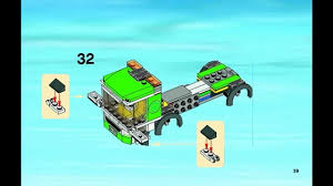 Lego City - Instructions For 4432: Garbage Truck - YouTube