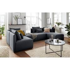 elbgestoeber sofa eckelement elbdock modul zum eigenen zusammenstellen in vielen bezugsqualitäten und farben