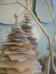 Christmas Tree Books Diy by Diy Book Page Christmas Trees Recycle Repurpose Crafts 1