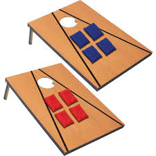 Maxam 11pc Bean Bag Toss Game Includes Carrying Case And 2 Boards