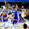 Chicago Bulls lose 112-105, 76ers' Joel Embiid posts 50 points