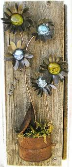 Flower Rustic Floral Wall Art