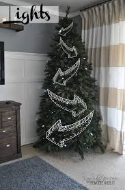 Troubleshooting Artificial Christmas Tree Lights by Remodelaholic How To Decorate A Christmas Tree A Designer Look
