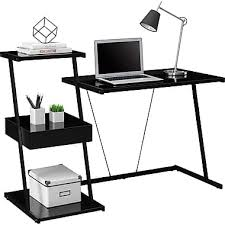 Staples Tempered Glass Computer Desk by Glass Computer Desk Staples Techni Mobili Glass Top Computer