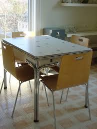 1940s Kitchen Table Retro Kitchen Tables Retro Chrome Table And
