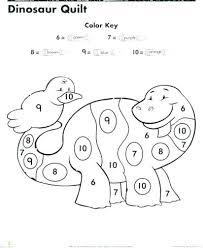 Color By Numbers Worksheet Kindergarten Number Worksheets Coloring Free Printable