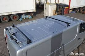 To Fit 2014 OPEL VAUXHALL VIVARO Mk3 2 Bar Roof Rack Bars Rails Van ...