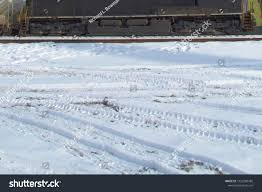 100 Truck Tracks Car Snow Close By Stock Photo Edit Now 1052280482