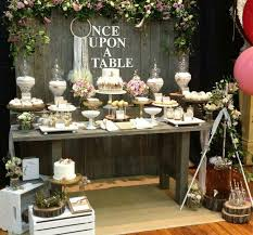 Rustic Wedding Buffet Table Candy Tabl On Lolly Tickled Pink Party Ideas
