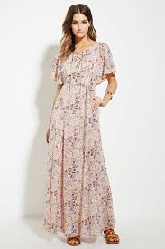contemporary floral maxi dress forever 21 2000169810