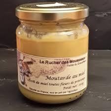 moutarde blanche en cuisine moutarde blanche au miel de printemps 0 22 kg le rucher des