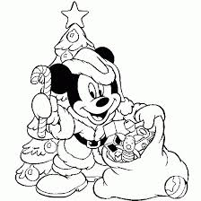 Mickey Mouse As Santa