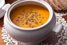 Toasting Pumpkin Seeds In Microwave by Roasted Butternut Squash Soup Recipe Chowhound
