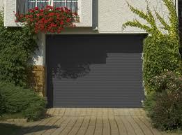 porte de garage enroulable gris 7016 voiture auto garage