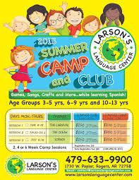 2015 Summer Camp Club Flyers