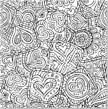 Doodle Designs Artists Coloring Book English Antistress