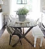 Primitive Dining Table Tableskitchen Tablesfurniturediyfree Woodworking