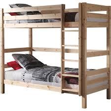 lit superposé en pin massif tiroir lit woody pas cher à prix auchan