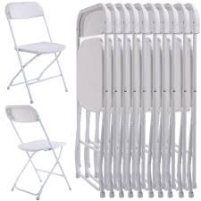 Details About New Commercial White Plastic Folding Chairs Stackable Picnic  Party (Set Of 10) White Resin Folding Chair Whosale Ivory Spandex Stretch Cover Wedding Party Chairs Childrens Special Design Hot Sale Cheap Price Outdoor Garden Fniture Folding Us 554 Ikayaa De Stock 2pcs Patio Outdoor Ding Garden Beach Camping Stool Fniture 2pcsset Chairsin Dobsons Marquee Hire Goture Fishing Max Load 150kg Super Lweight With Weddings Massage How To Start A Rental Business Foldingchairsandtablescom 5pack Plastic Banquet Seat Premium Event Black Celebration